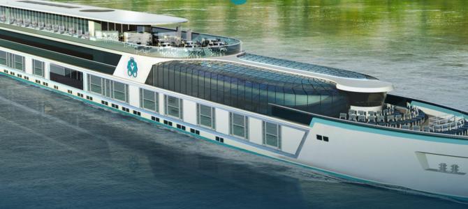 Crystal River Cruises presenta el diseño del Crystal Mozart